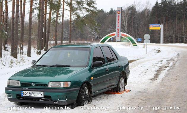 Два пьяных украинца на «Ниссане» пытались прорваться через белорусскую границу