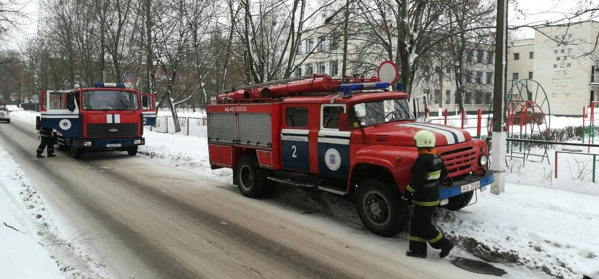 Что горело на крыше гимназии №2. Видео и комментарий МЧС