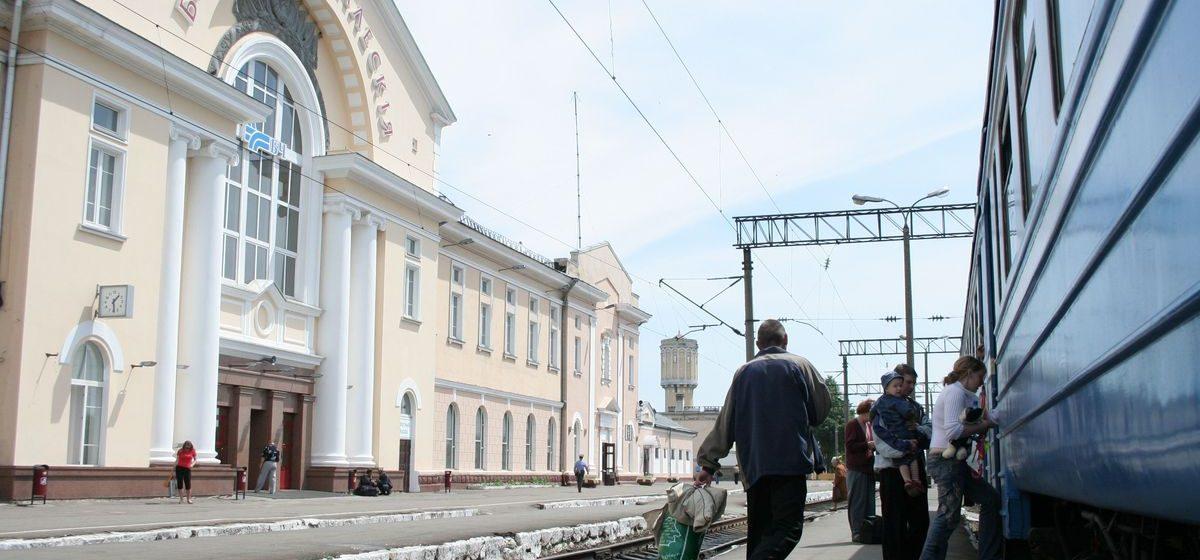 Мужчина попал под поезд на вокзале «Барановичи-Полесские»