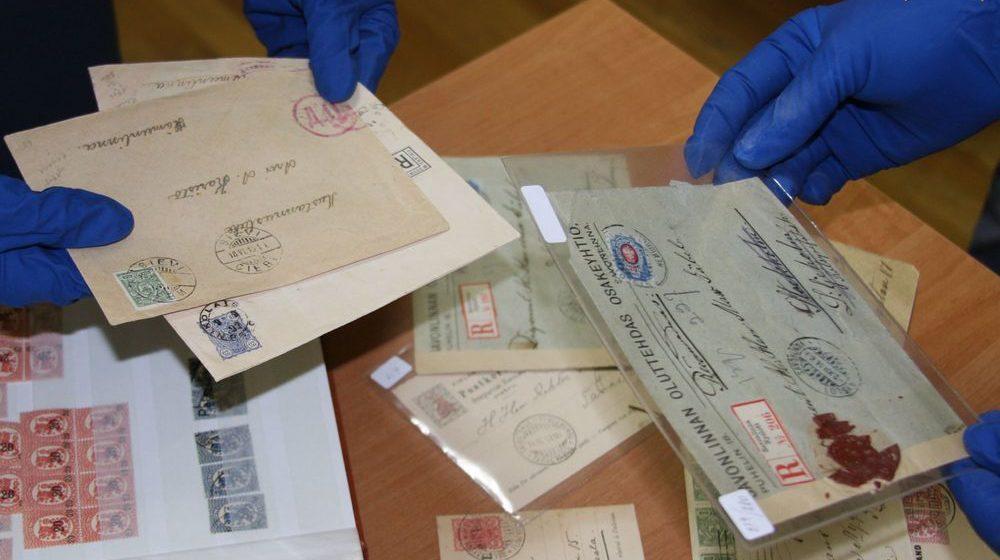 Белорусские таможенники изъяли у эстонца более 1000 старинных марок