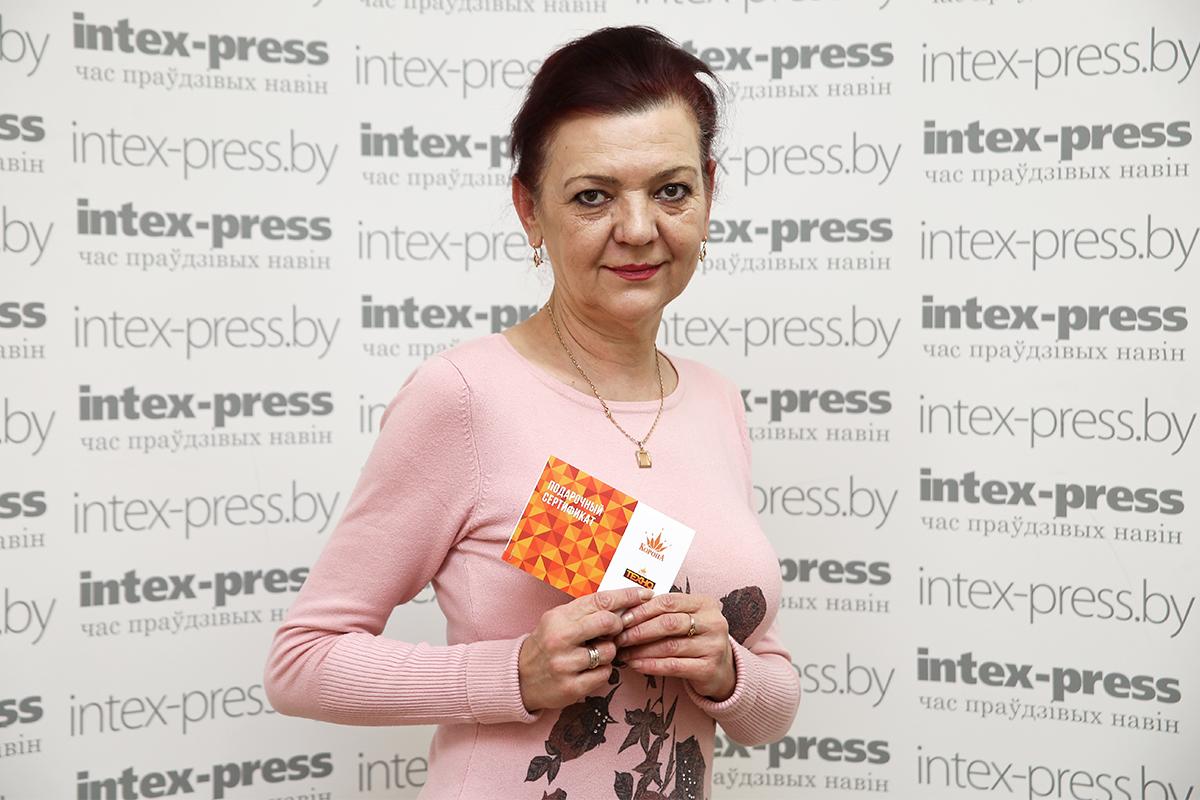 Оксана Андреева. Фото: Евгений ТИХАНОВИЧ