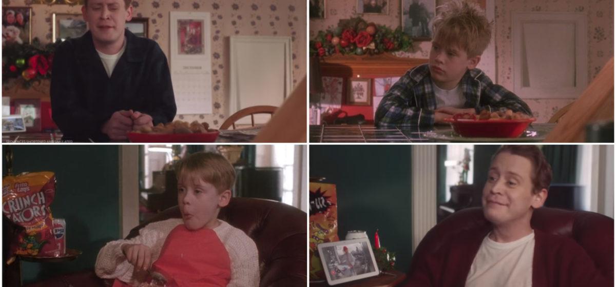 Повзрослевший Маколей Калкин повторил сцены из «Один дома» рекламы голосового помощника Google