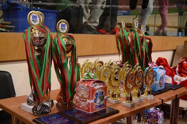 Юные воспитанницы барановичского индорхоккея участвовали в Международном рождественском турнире
