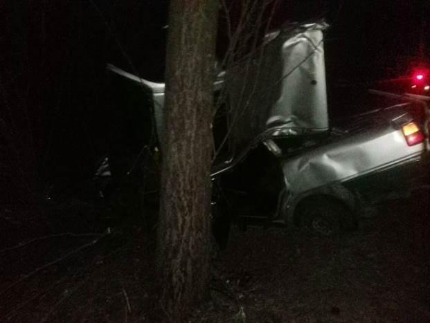 В Волковысском районе автомобиль врезался в дерево, погибла пассажирка