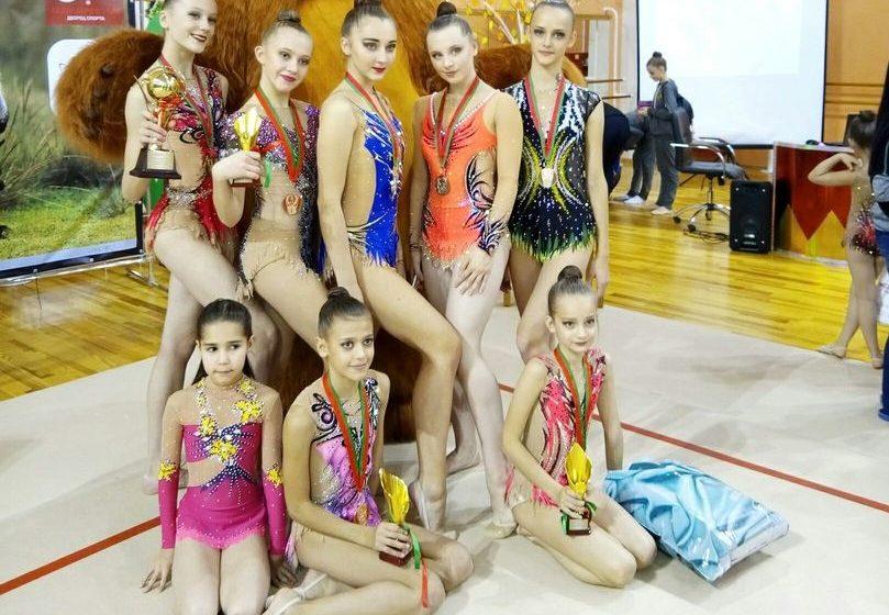 В Барановичах прошел Международный турнир по художественной гимнастике