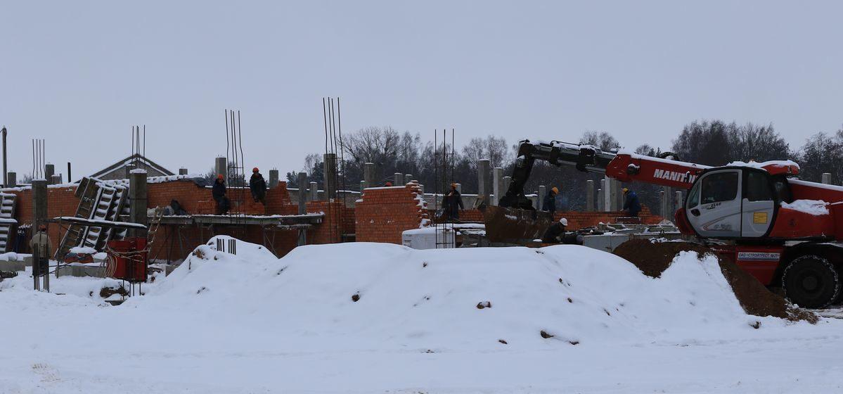 В Барановичах начали строить новую станцию скорой помощи