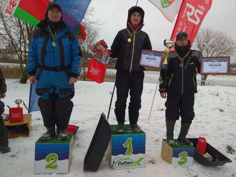 Василий Быков, сын белорусского классика, стал вторым среди рыболовов-спортсменов.
