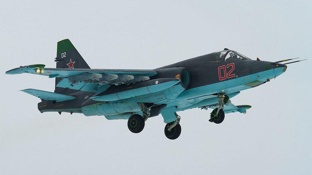 В Армении разбился военный самолет Су-25, есть погибшие