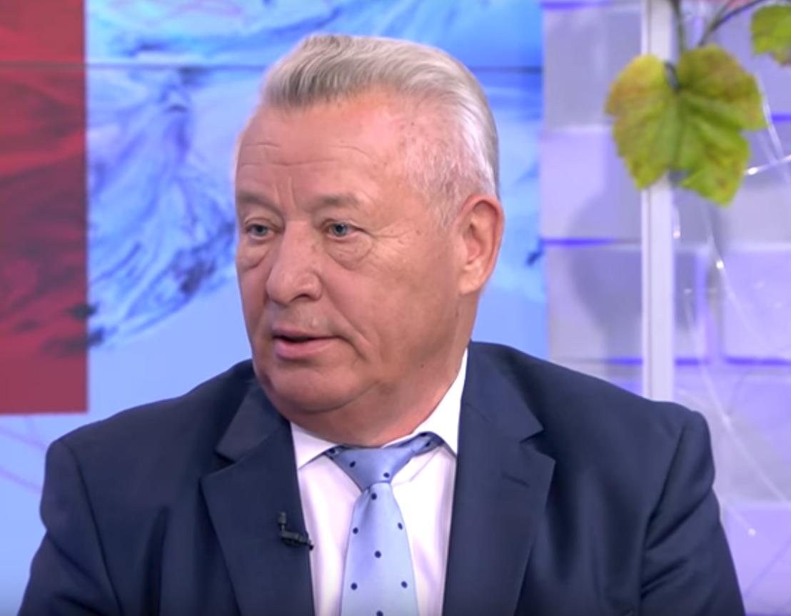 Владимир Дражин, кадр из видео