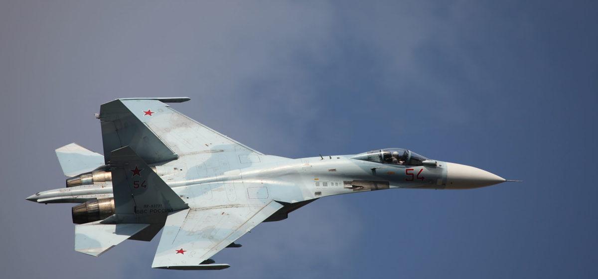 В Украине разбился истребитель Су-27. Пилот погиб