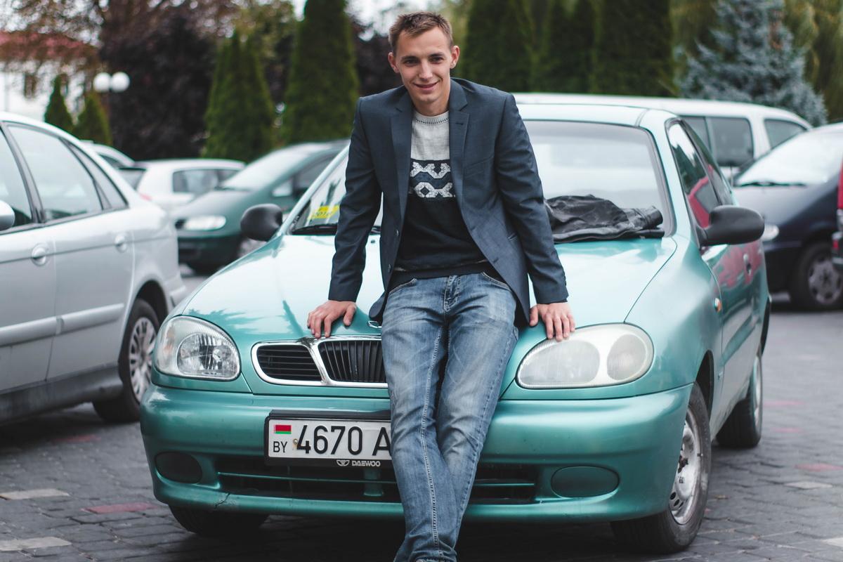Владелец автомобиля Daewoo Lanos 1998 года выпуска – Андрей Гребень. Фото из личного архива.