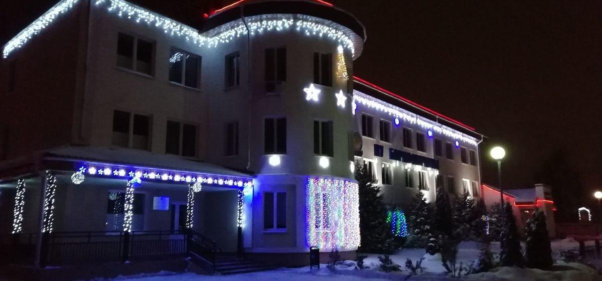 Лучшее новогоднее украшение предприятий, организаций и частных дворов будут оценивать в Барановичах