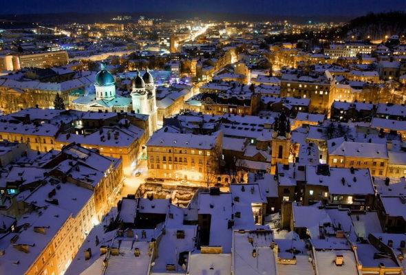На рождественские праздники во Львов