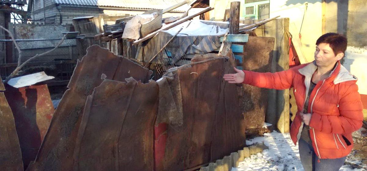 Барановичская коза ностра. Нешуточный конфликт разгорелся между двумя соседками из-за коз во дворе дома