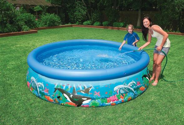 Уход за надувным бассейном — это просто