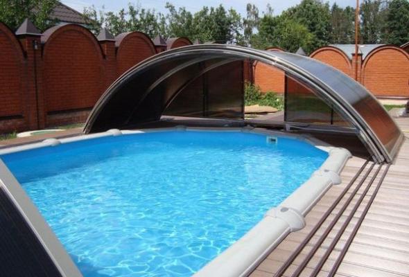 Утепление каркасного бассейна: что выбрать?