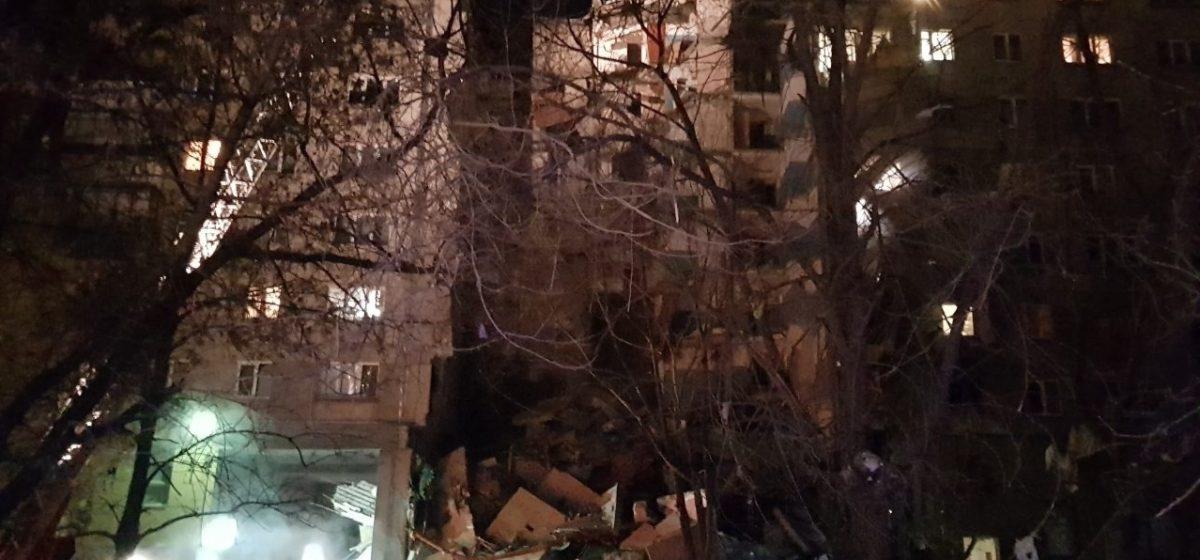 Взрыв в жилом доме в Магнитогорске. Обрушился подъезд – десятки человек под завалами