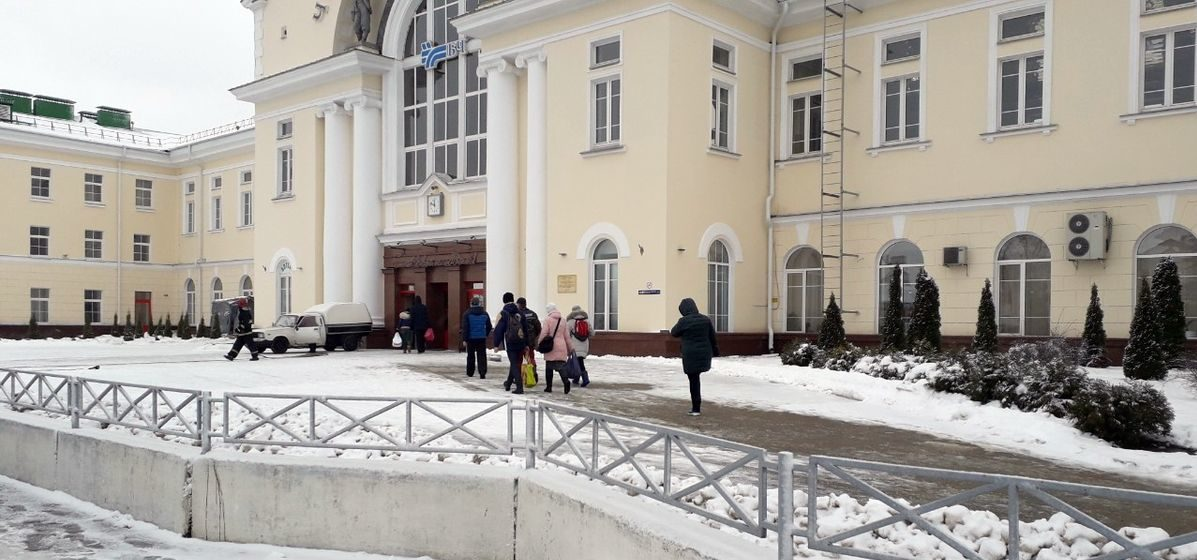 Сообщение о минировании вокзала «Барановичи-Полесские» оказалось ложным