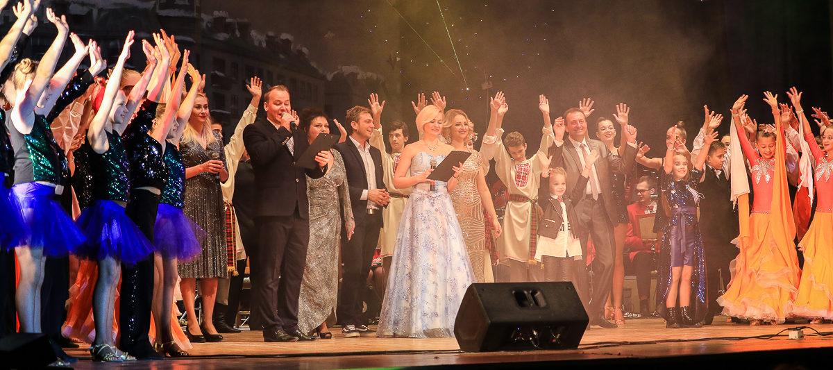 Как прошел традиционный концерт «Рождественские звезды» в Барановичах