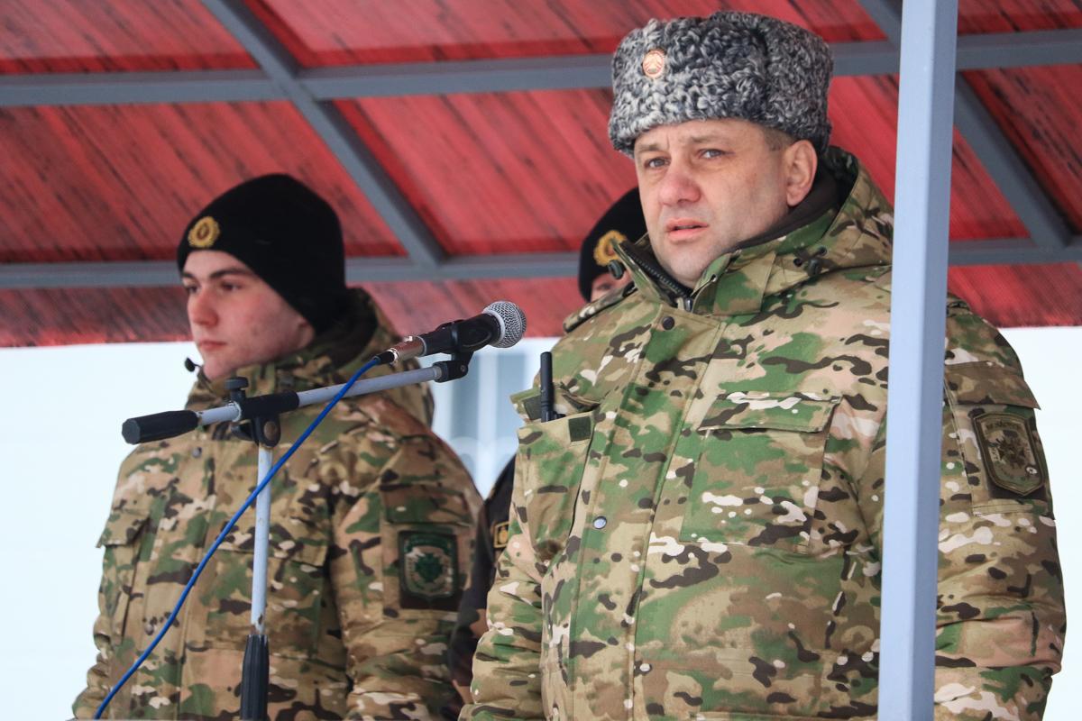Полковник Владимир Гавдур, командир в/ч 7404.