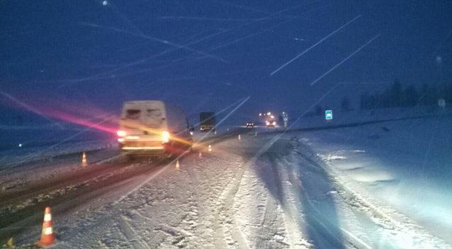 Под Минском автомобиль насмерть сбил пешехода