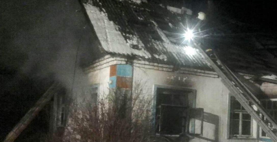 Кот спас хозяина на пожаре в Щучинском районе