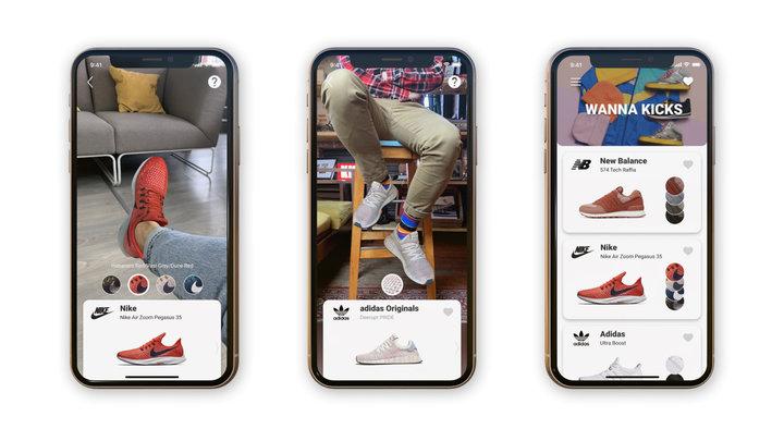Белорусский стартап выпустил программу, позволяющую «примерить» новые кроссовки до их покупки
