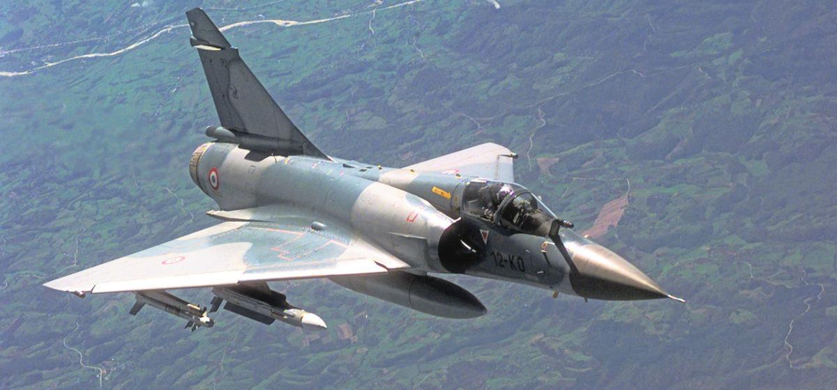 Разбился французский истребитель Mirage 2000D. Оба пилота погибли