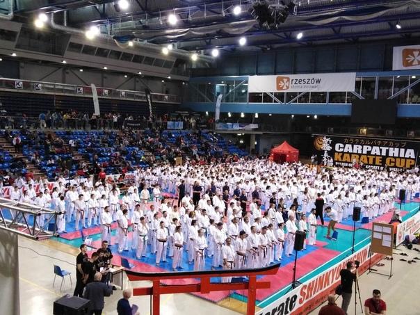 Юные барановичские каратисты выиграли награды международного турнира