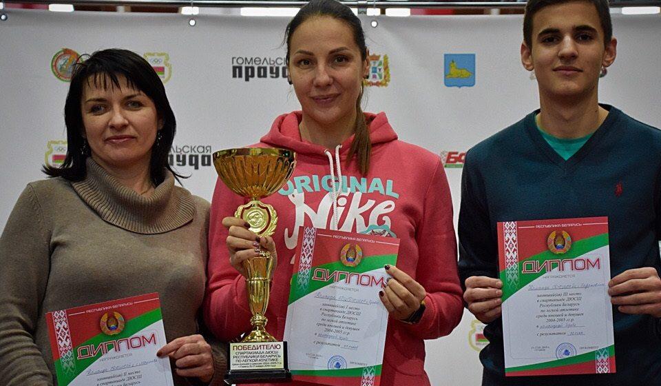 Барановичский юноша был назван лучшим на Спартакиаде Беларуси