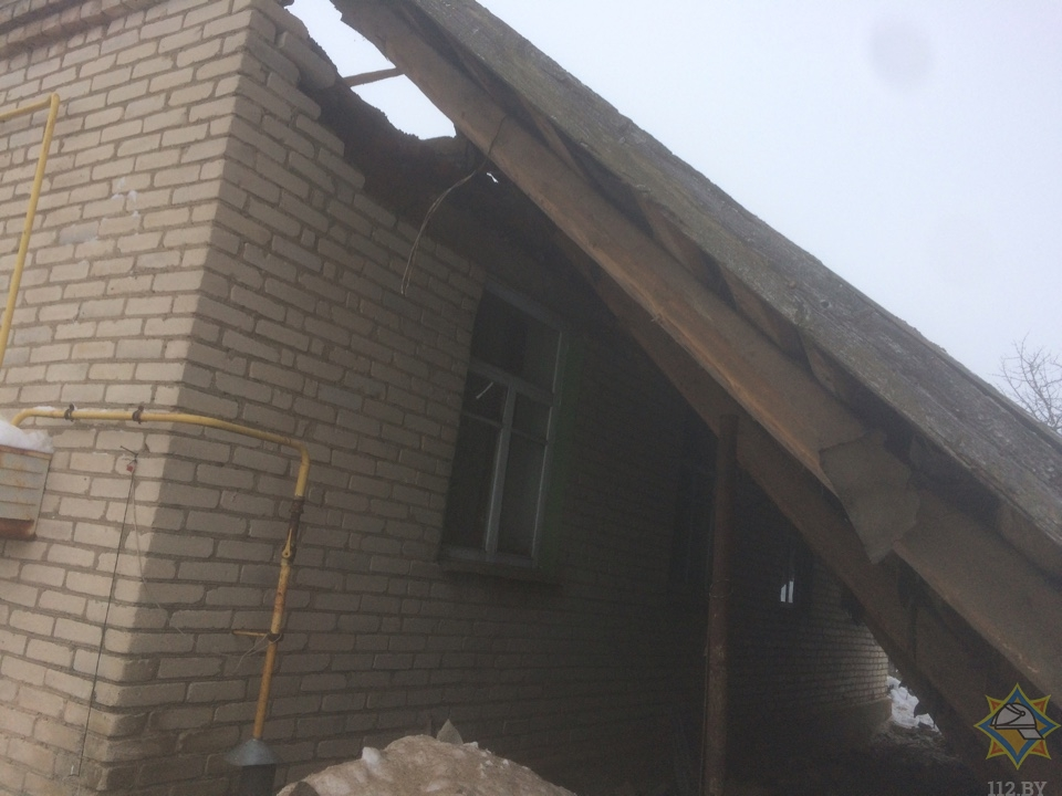 Место ЧП. Фото: МЧС Беларуси