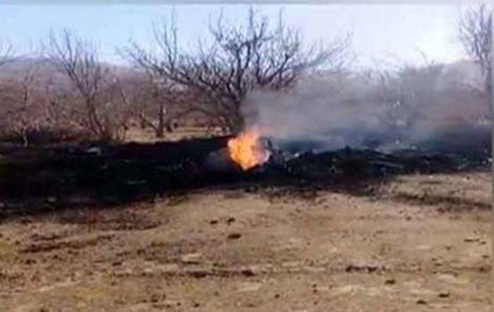 Фото: dailypakistan.com.pk Место авиакатастрофы в Пакистане