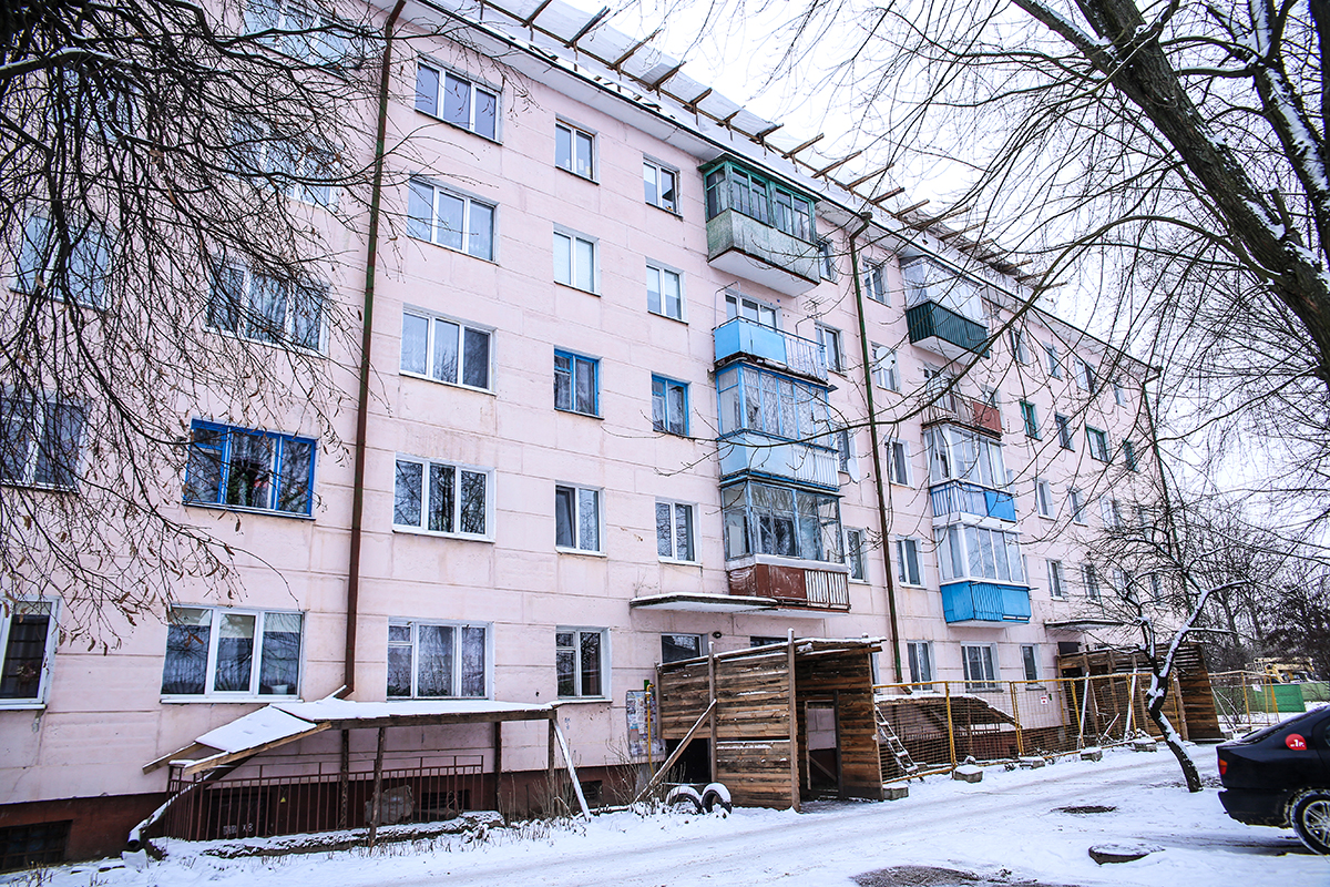 Дом №68 на улице Тельмана. Фото: Евгений ТИХАНОВИЧ