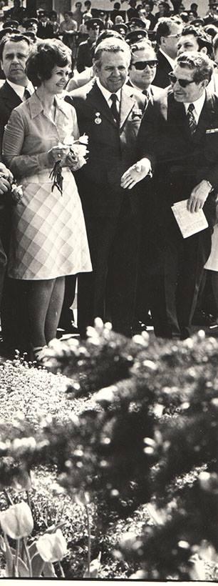 Зинаида Бондаренко на праздновании 9 мая 1978 года