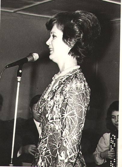 Зинаида Бондаренко в злосчастном платье