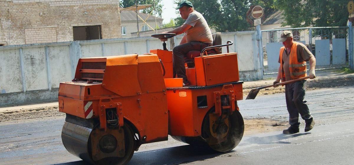 Специалисты из Бреста и Барановичей ремонтируют дороги в Украине