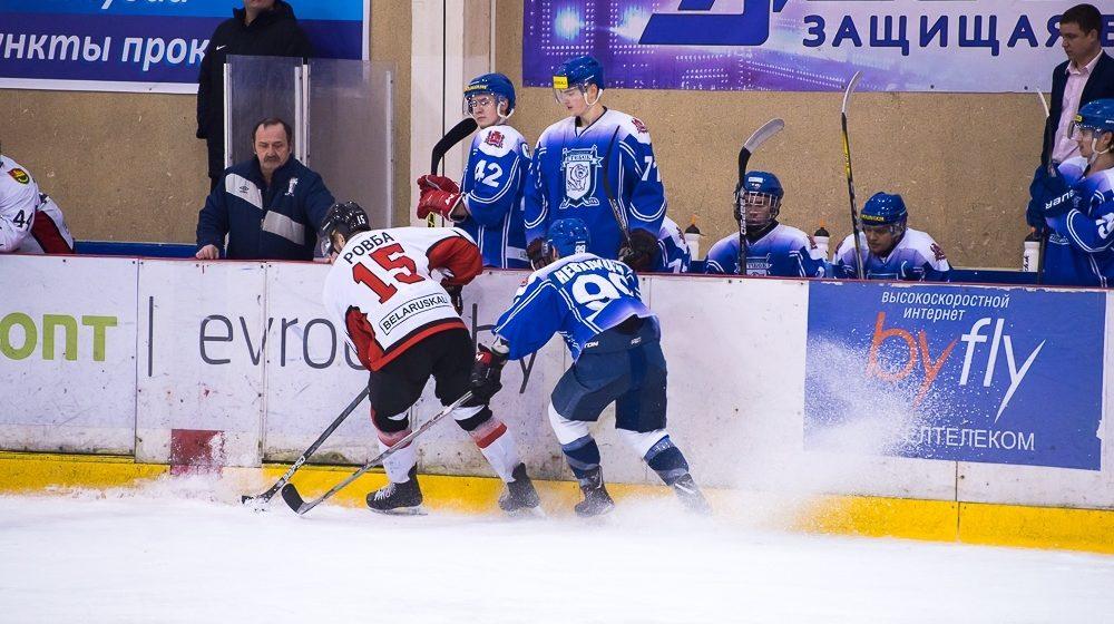 ХК «Барановичи» минимально выиграл у ХК «Витебск» на домашнем льду