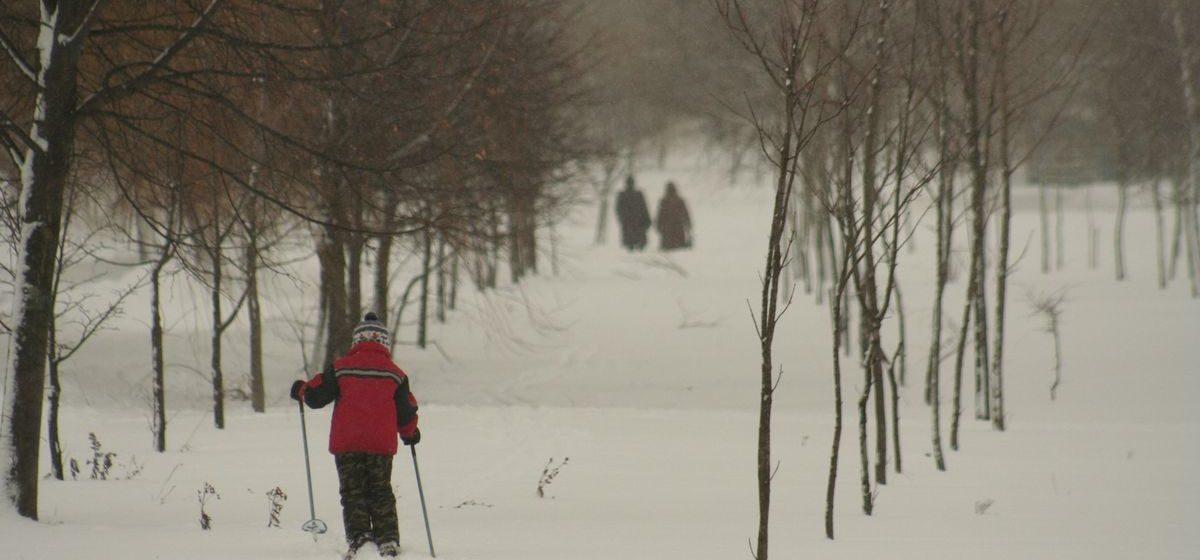 Мороз и снег. Метеорологи рассказали о погоде в Барановичах в выходные