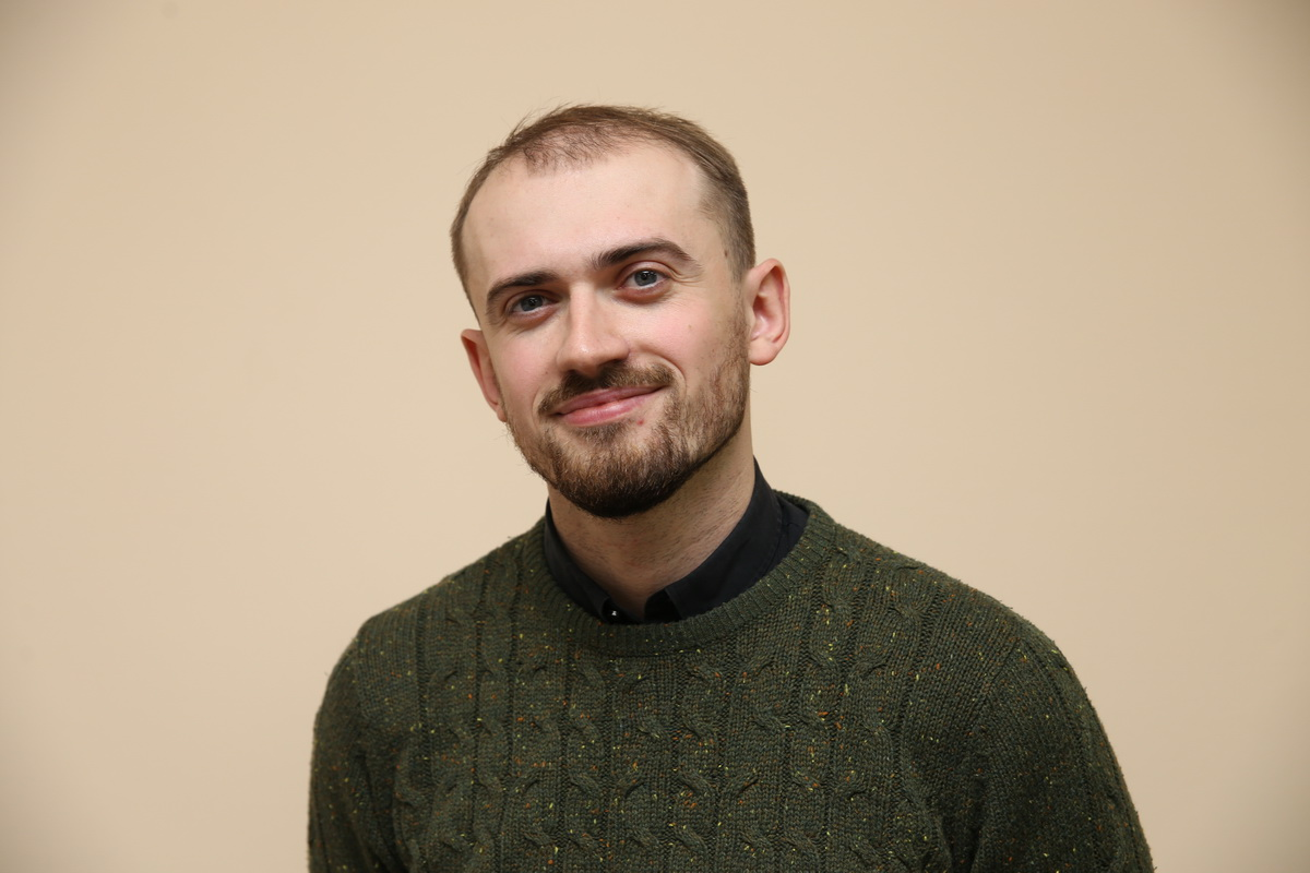 Баранавіцкі рэжысёр Аляксей Палуян. Фота: Яўген ЦІХАНОВІЧ