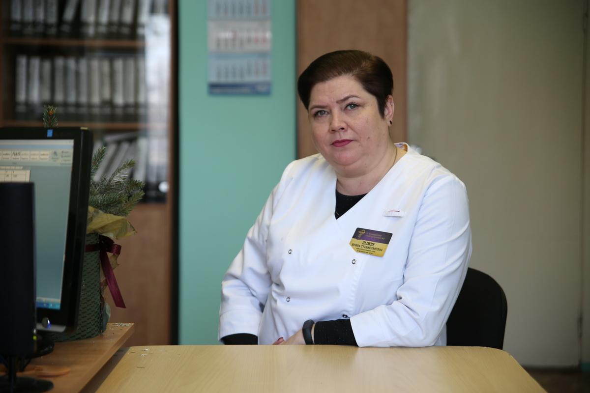 По словам Ирины Пыжик, в 2018 году в гастроэнтерологическом отделении лечение прошли 828 человек, в 2017 году – 814. Фото: Евгений ТИХАНОВИЧ
