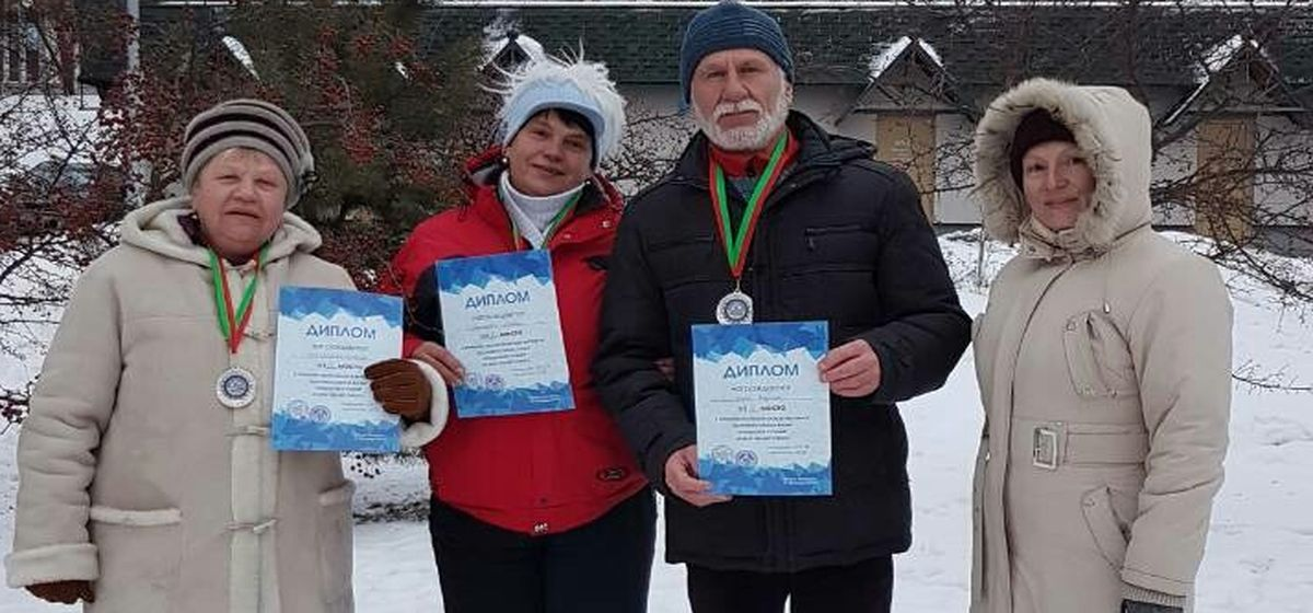 Барановичские моржи отличились на фестивале «Крещенские купания»
