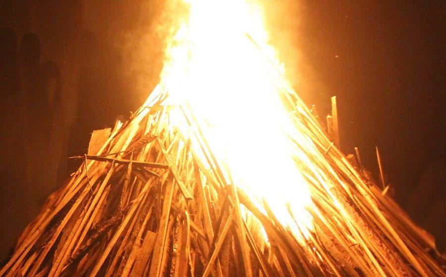 Дом горел под Барановичами