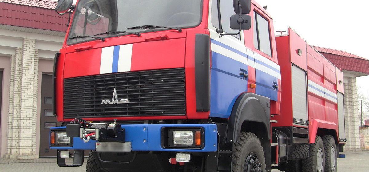В Минске из-за пожара в банке эвакуировали 500 человек