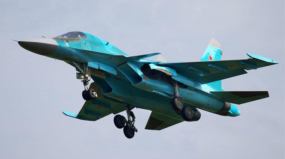 В России столкнулись два истребителя-бомбардировщика Су-34