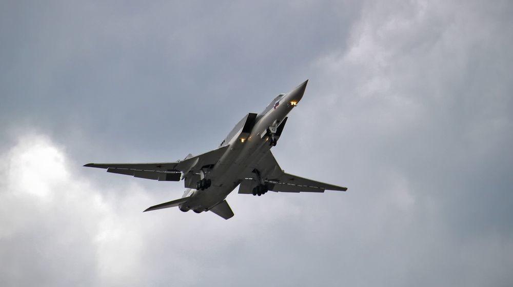 Дальний бомбардировщик ВКС России аварийно сел и загорелся в Астраханской области