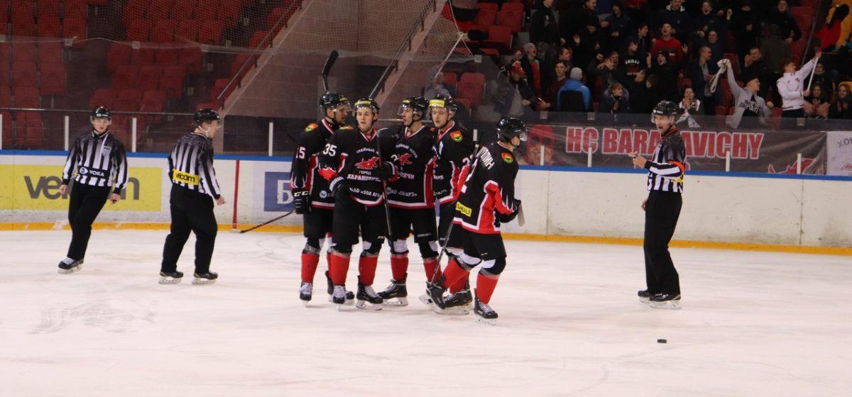 ХК «Барановичи» выиграл первый матч в новом году