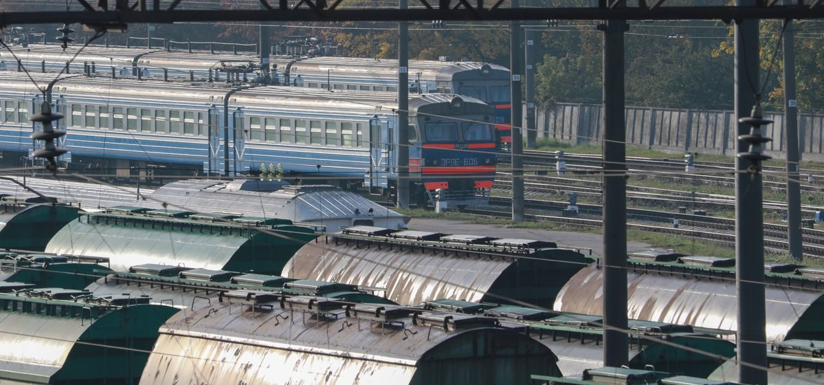 В Барановичах грузовой поезд сбил женщину