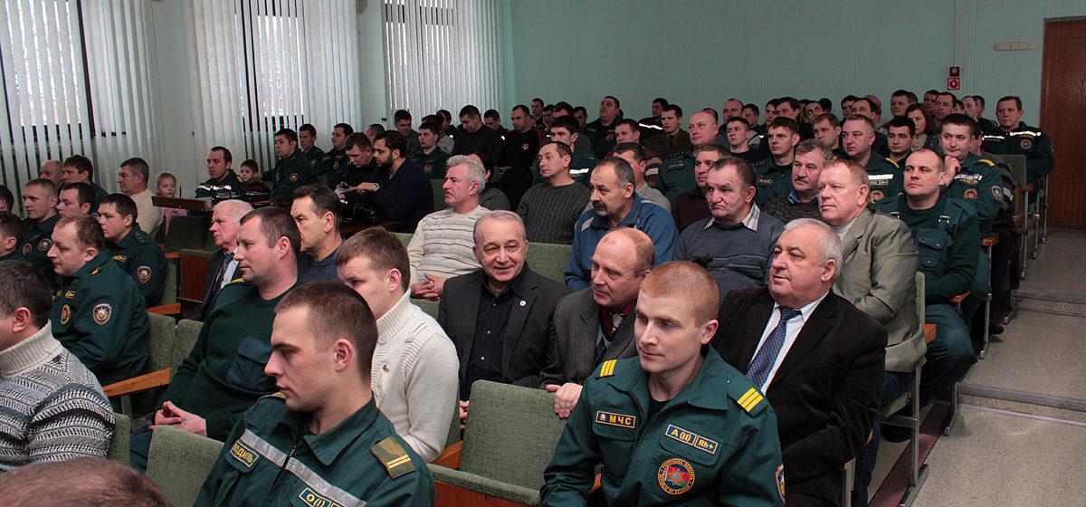 Сотрудников Барановичского ГРОЧС наградят медалями и грамотами на торжественом заседании в ГДК
