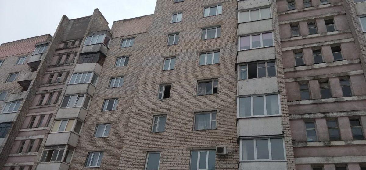 В Мозыре в многоэтажке произошел взрыв (видео)