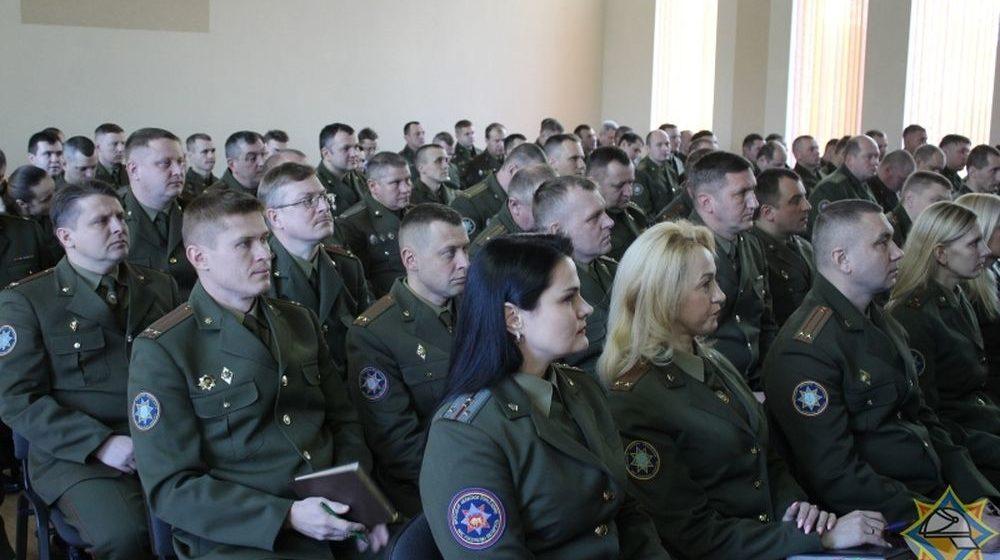 Барановичский горрайотдел МЧС признан лучшим в Брестской области по итогам 2018 года